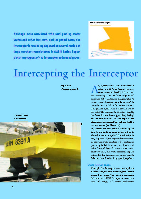 Intercepting the Interceptor